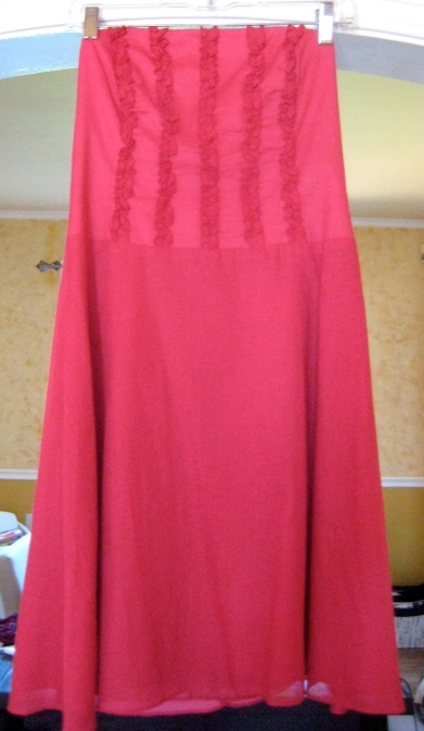Laundry by Shelli Segal ruffle dress - ebay