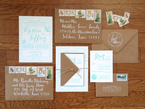 Conlon_Mint-Green-Letterpress-and-Kraft-Invitation-Suite
