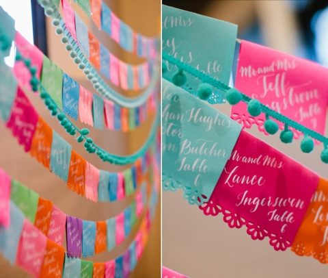 Mexican-Fiesta-Wedding-Papel-Picado-Escort-Display