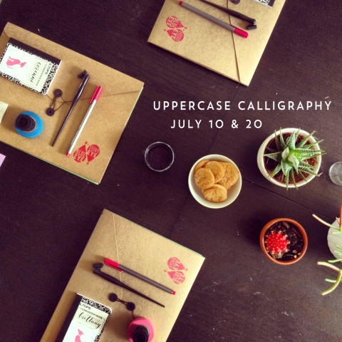 Blue-Eye-Brown-Eye_Uppercase-Calligraphy-Classes